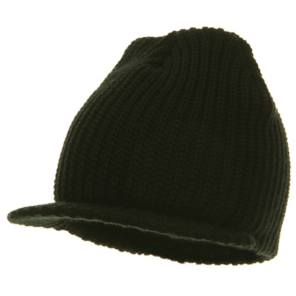 Lumberjack Jeep Beanie Visor - Black - Hats and Caps Online Shop - Hip Head Gear