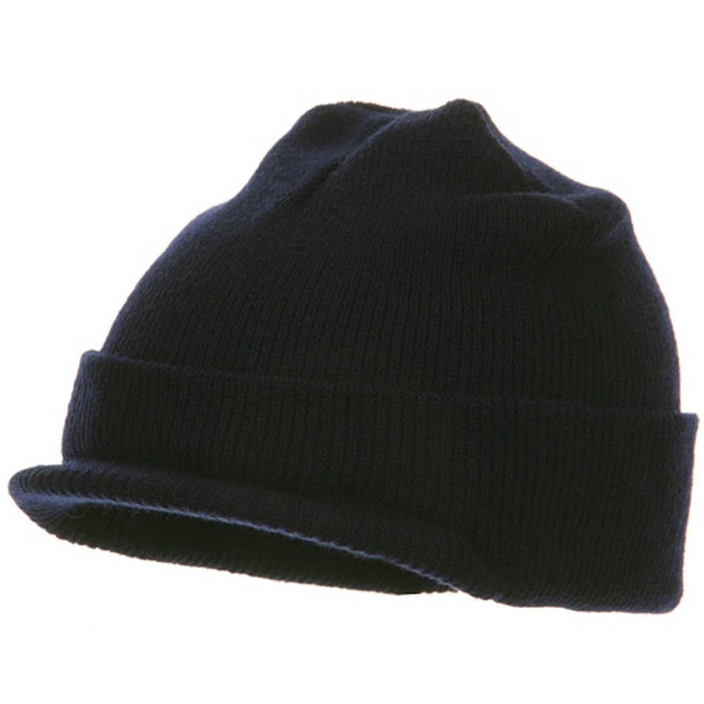 Youth Beanie Jeep Cap - Navy - Hats and Caps Online Shop - Hip Head Gear