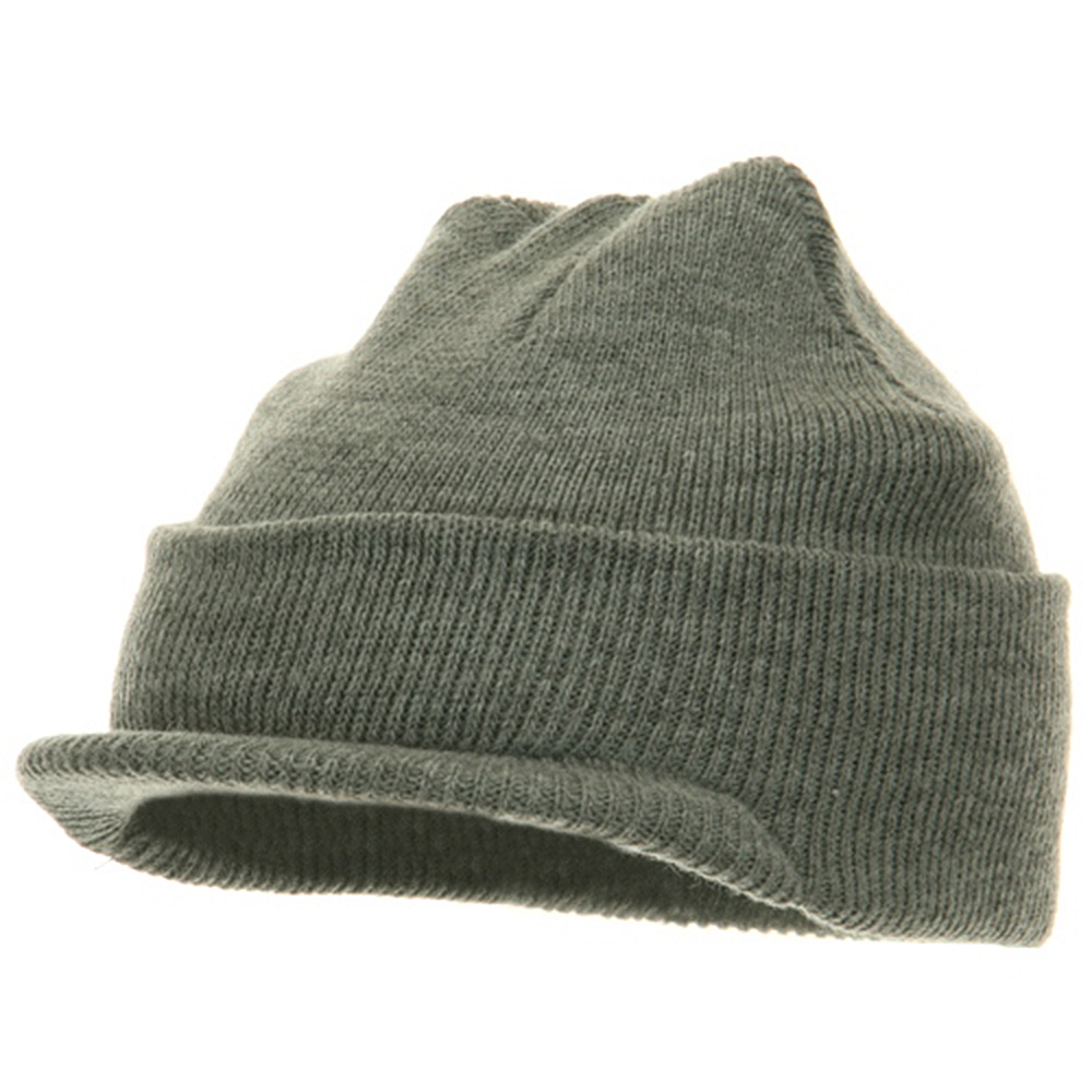 Youth Beanie Jeep Cap - Grey - Hats and Caps Online Shop - Hip Head Gear