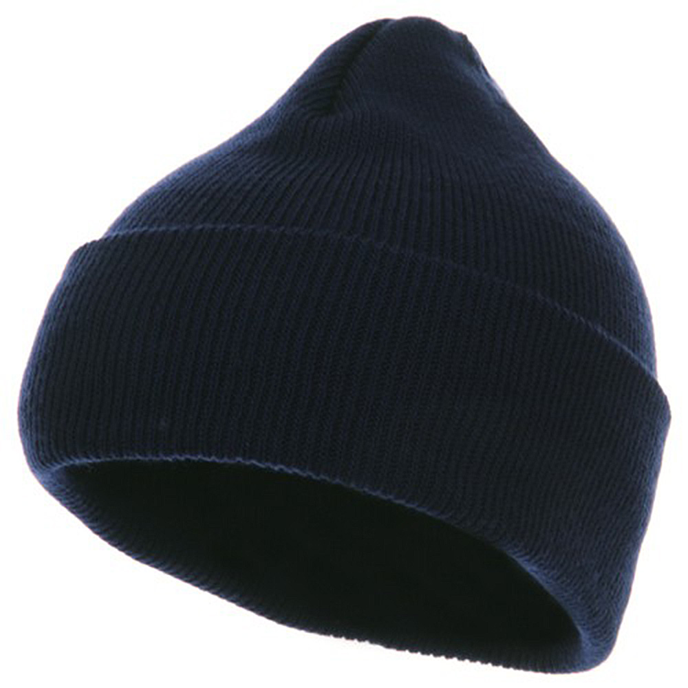 Youth Knit Cuff Beanie - Navy - Hats and Caps Online Shop - Hip Head Gear