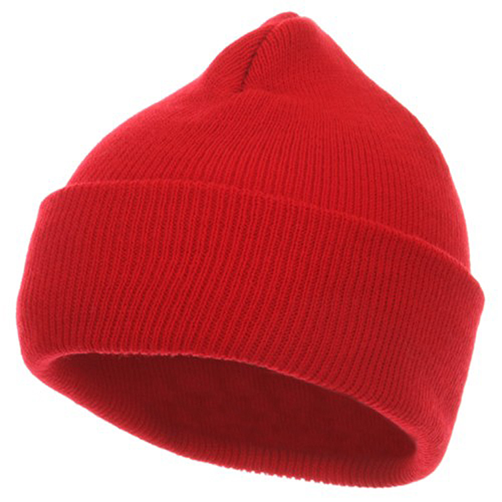 Youth Knit Cuff Beanie - Red - Hats and Caps Online Shop - Hip Head Gear