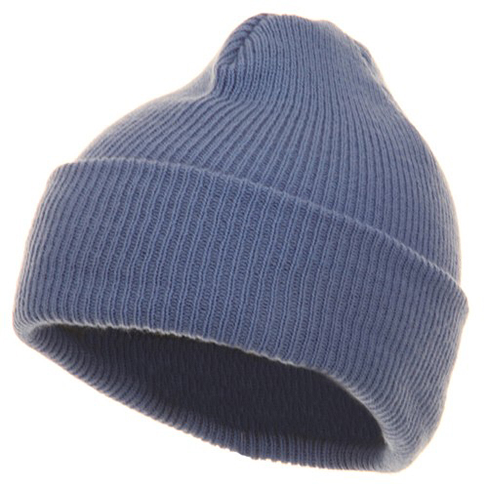Youth Knit Cuff Beanie - Blue - Hats and Caps Online Shop - Hip Head Gear