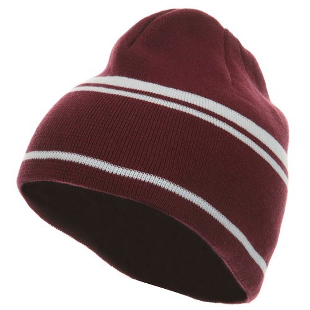 Moisture Wicking Beanie - Cardinal White - Hats and Caps Online Shop - Hip Head Gear
