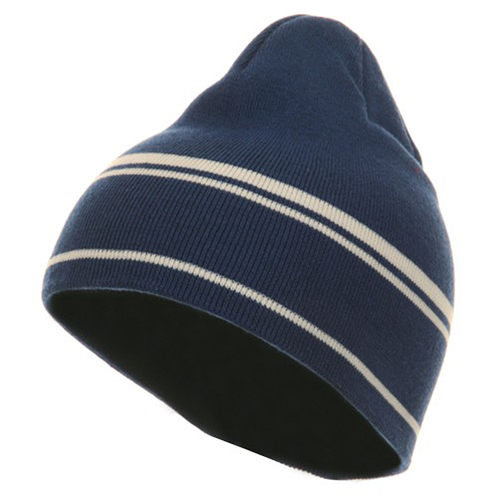 Moisture Wicking Beanie - Royal White - Hats and Caps Online Shop - Hip Head Gear