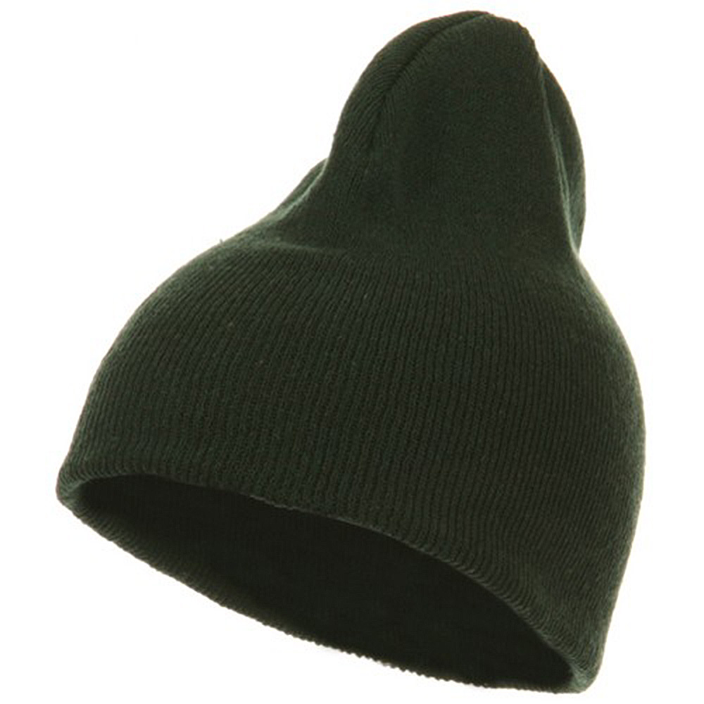 Classic 3 Ply Beanie - Forest Green - Hats and Caps Online Shop - Hip Head Gear