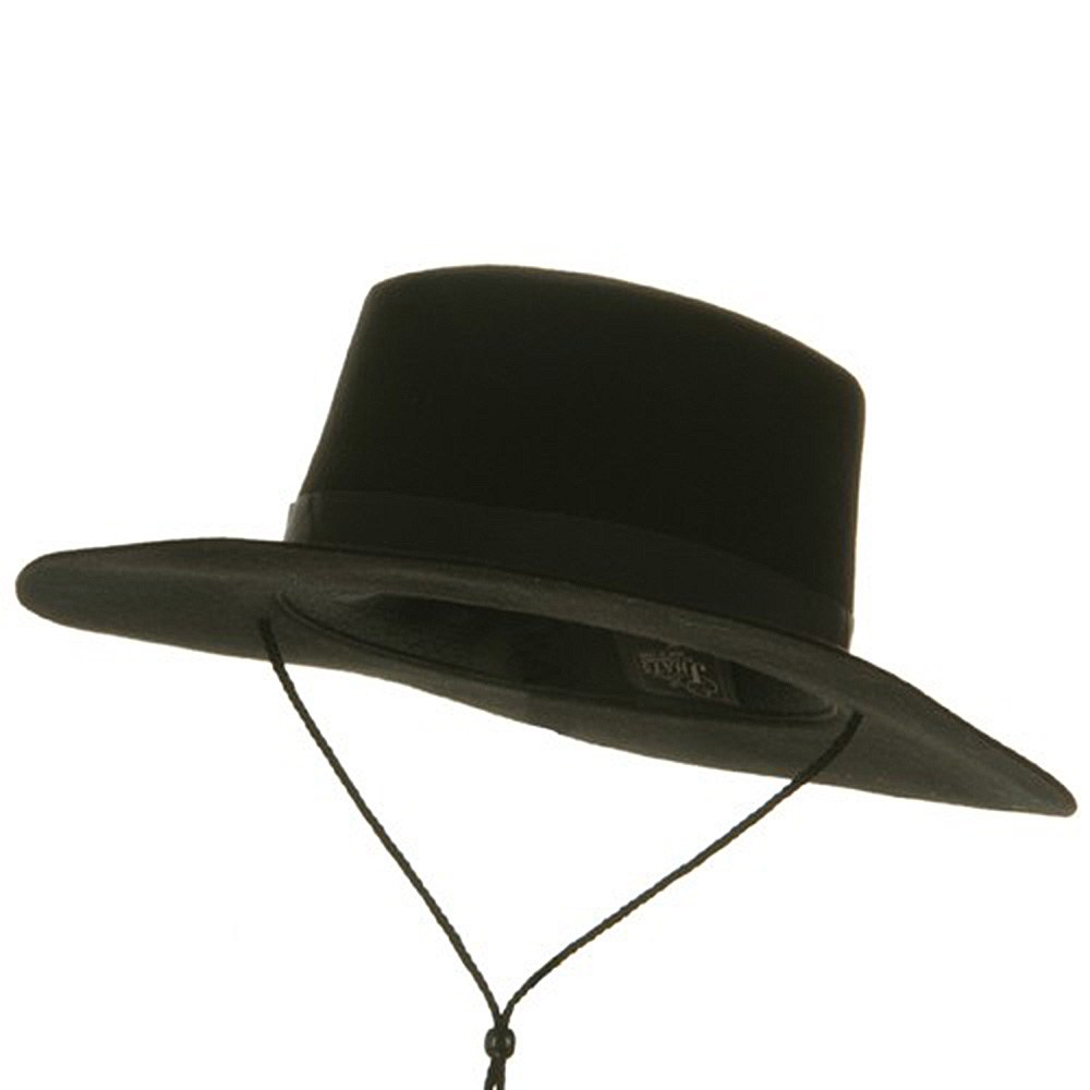 Wool Felt Spanish Hat - Black - Hats and Caps Online Shop - Hip Head Gear