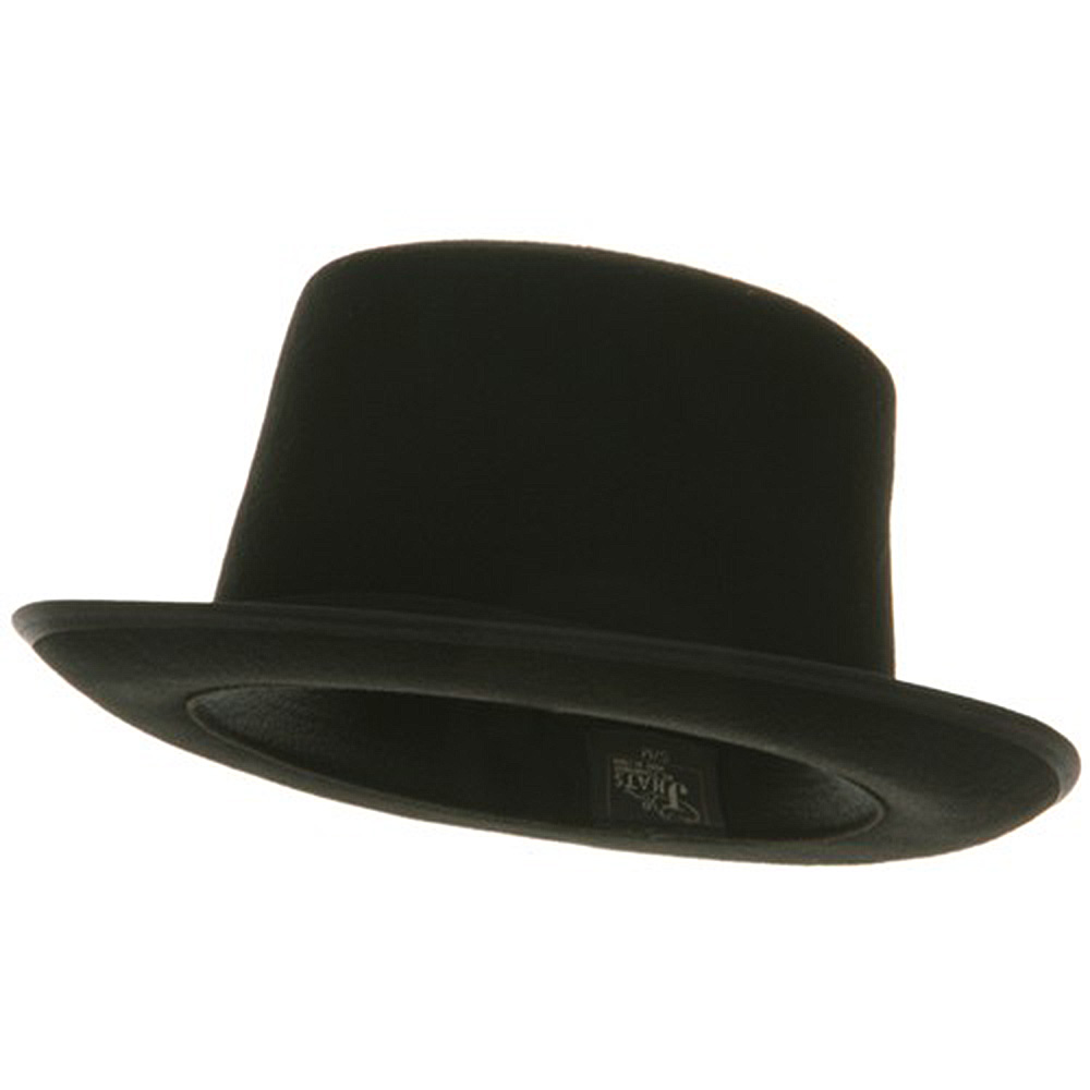 Wool Felt Top Hat - Wool Black - Hats and Caps Online Shop - Hip Head Gear