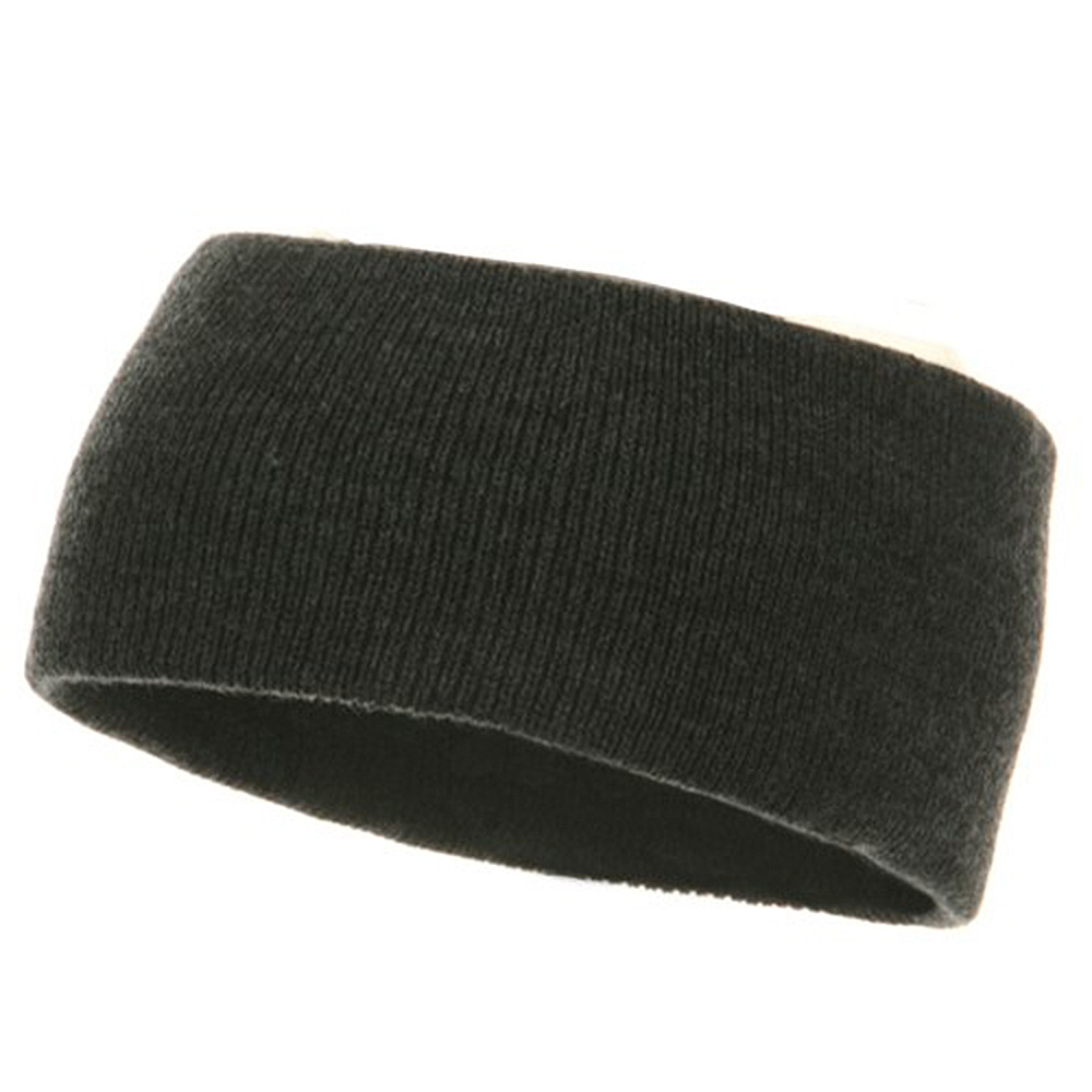 Acrylic Headband - Charcoal - Hats and Caps Online Shop - Hip Head Gear
