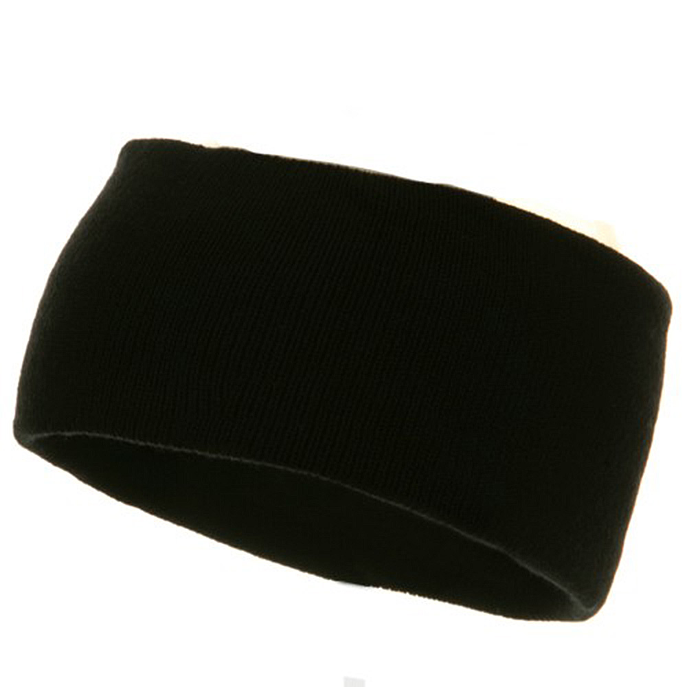 Acrylic Headband - Black - Hats and Caps Online Shop - Hip Head Gear