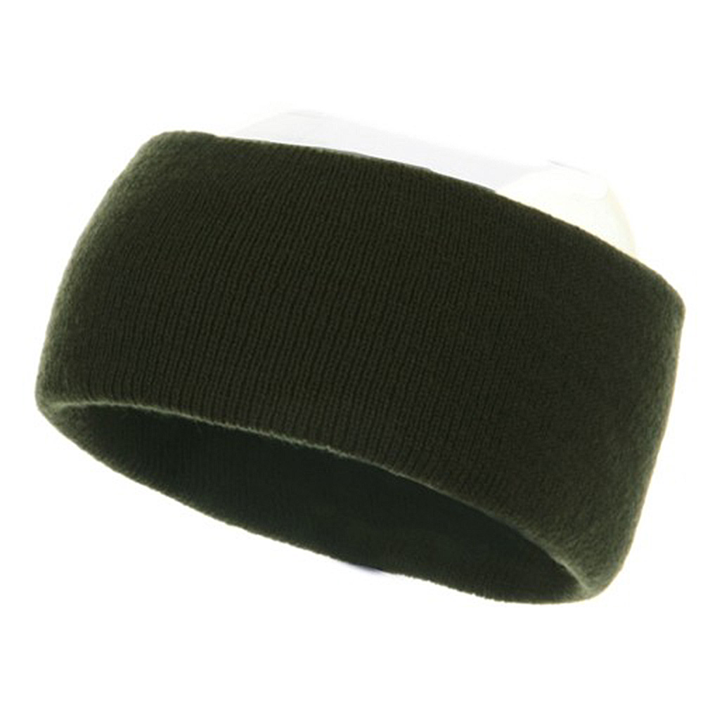 Acrylic Headband - Olive - Hats and Caps Online Shop - Hip Head Gear