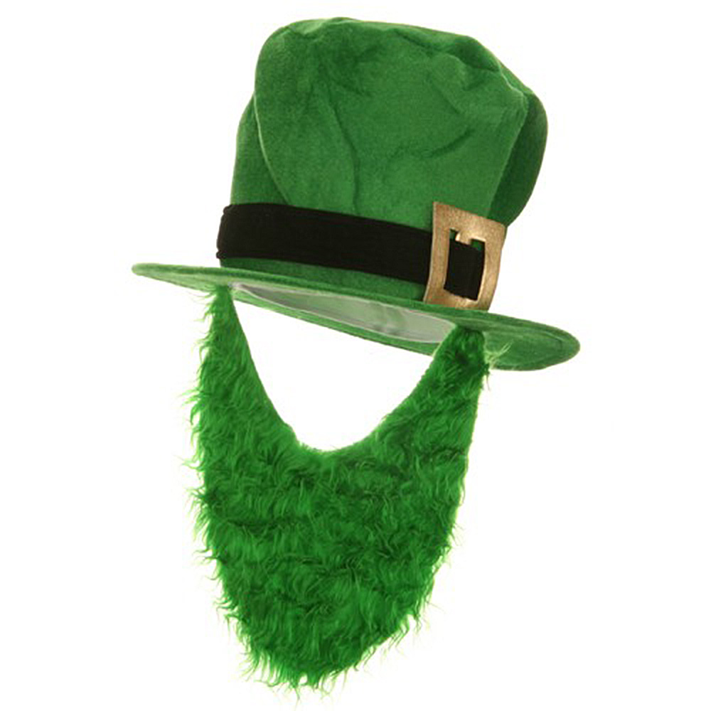 Green Velvet Top Hat - Beard - Hats and Caps Online Shop - Hip Head Gear