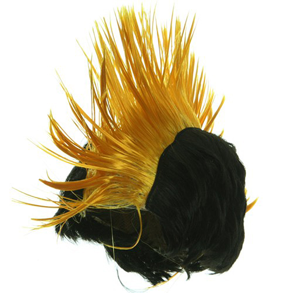 Mohawk Wig - Yellow - Hats and Caps Online Shop - Hip Head Gear