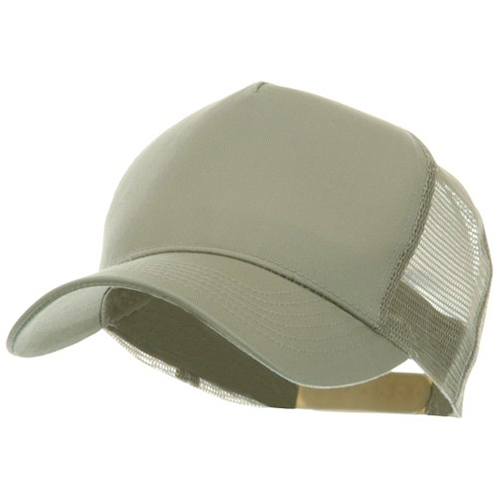 5 Panel Pet Spun Mesh Cap - Khaki - Hats and Caps Online Shop - Hip Head Gear