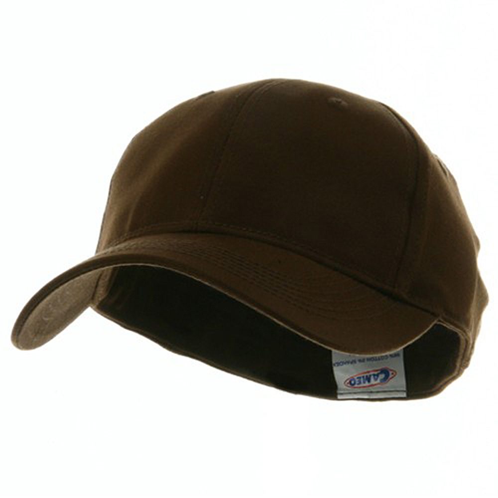 Youth Size 6 Panel Naturalfit Cap - Brown - Hats and Caps Online Shop - Hip Head Gear