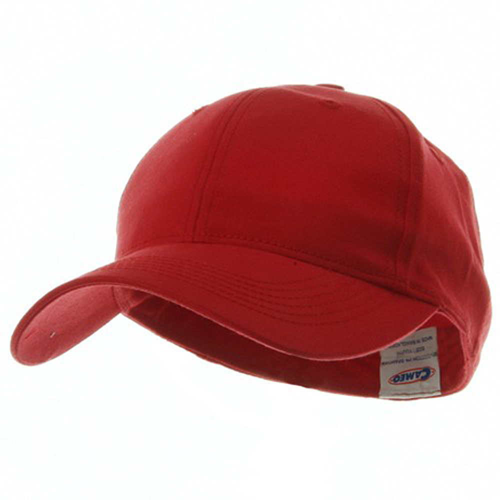 Youth Size 6 Panel Naturalfit Cap - Red - Hats and Caps Online Shop - Hip Head Gear