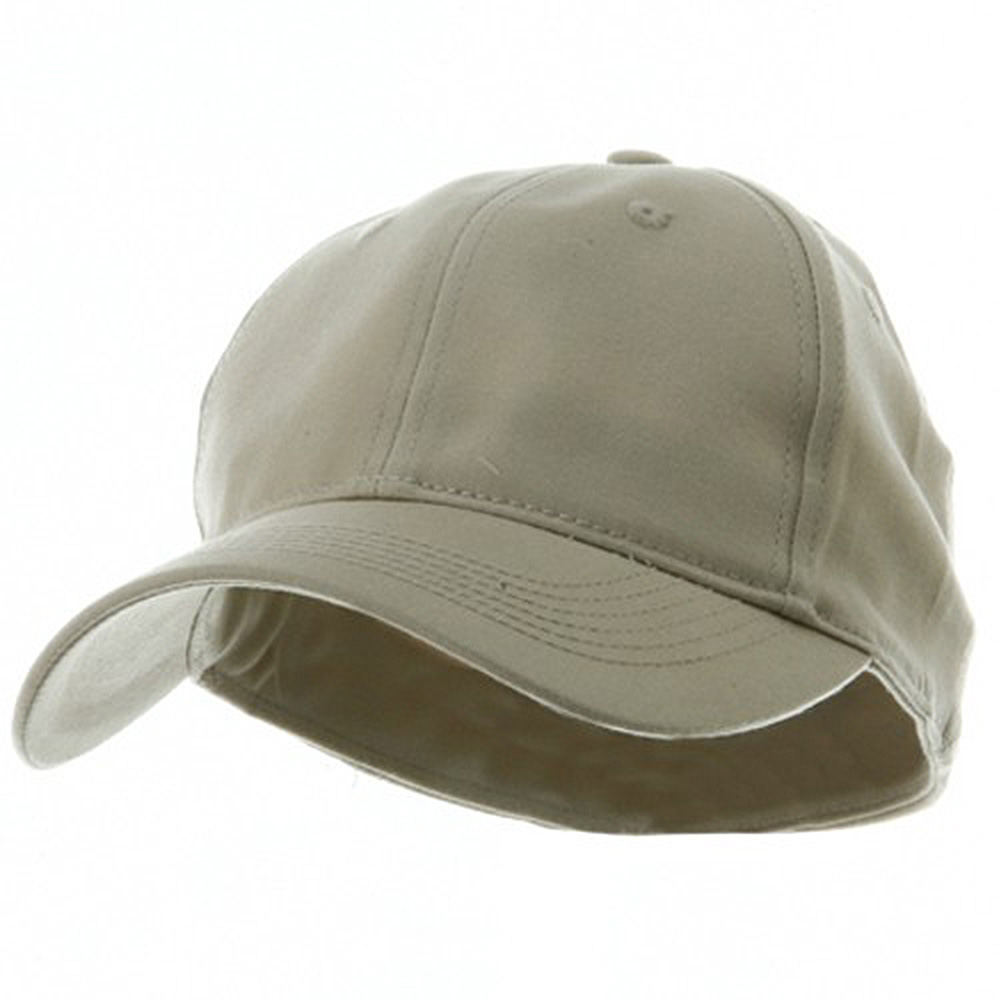 Youth Size 6 Panel Naturalfit Cap - Natural - Hats and Caps Online Shop - Hip Head Gear