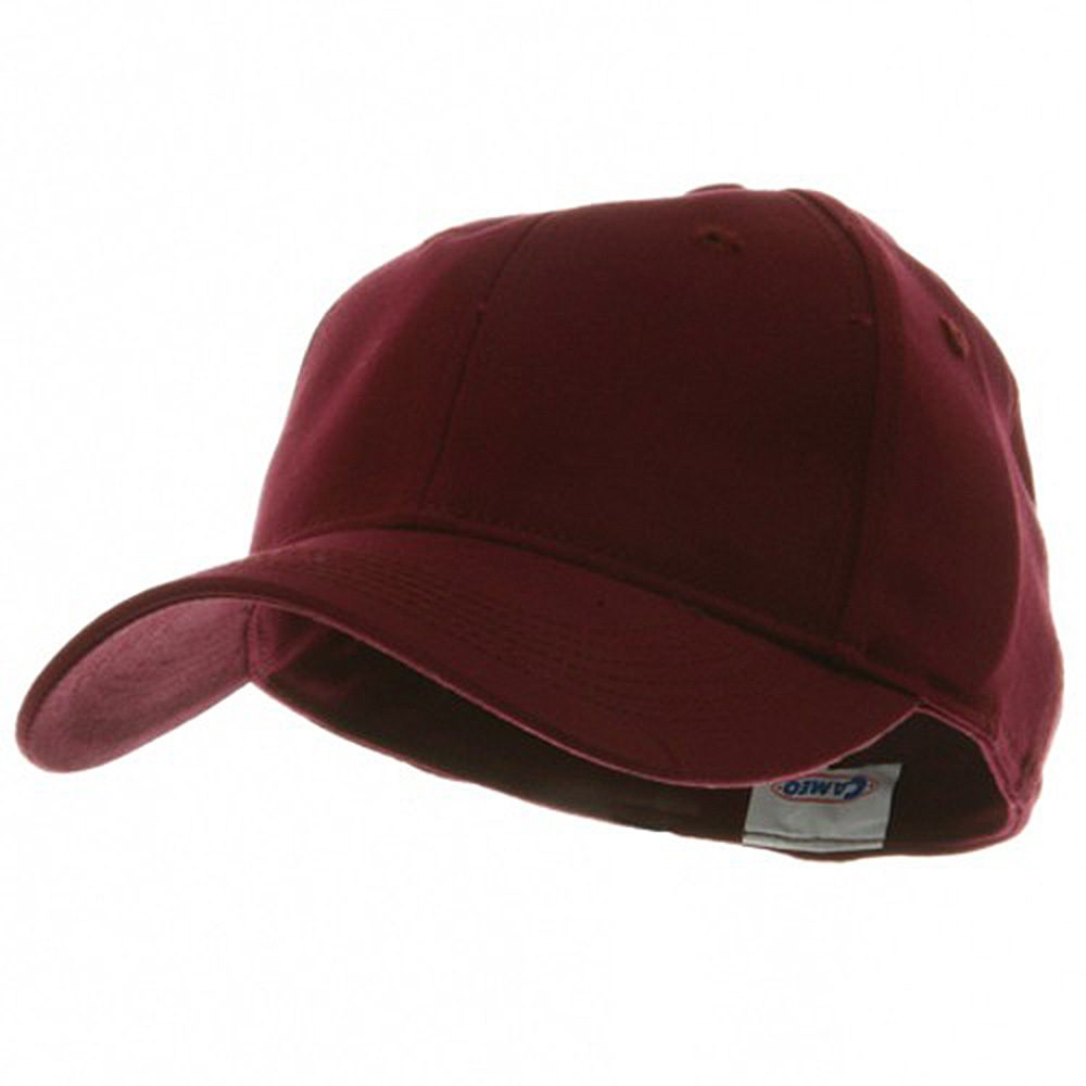 Youth Size 6 Panel Naturalfit Cap - Maroon - Hats and Caps Online Shop - Hip Head Gear