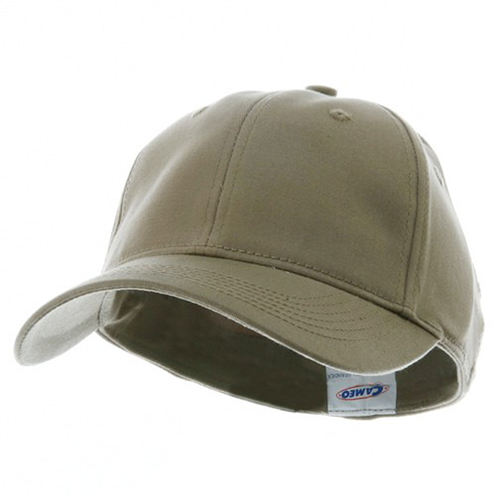 Youth Size 6 Panel Naturalfit Cap - Khaki - Hats and Caps Online Shop - Hip Head Gear