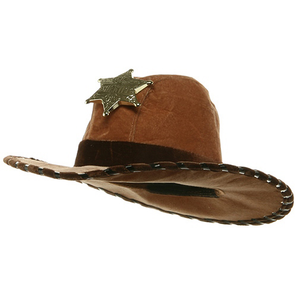 Kid's Sheriff Hat - Brown - Hats and Caps Online Shop - Hip Head Gear