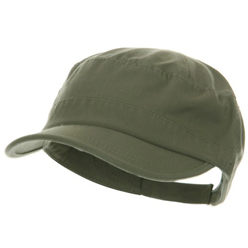 Pet Spun Washed Army Cap - Olive - Hats and Caps Online Shop - Hip Head Gear