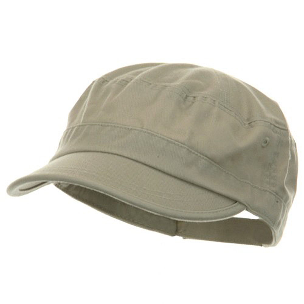 Pet Spun Washed Army Cap - Stone - Hats and Caps Online Shop - Hip Head Gear