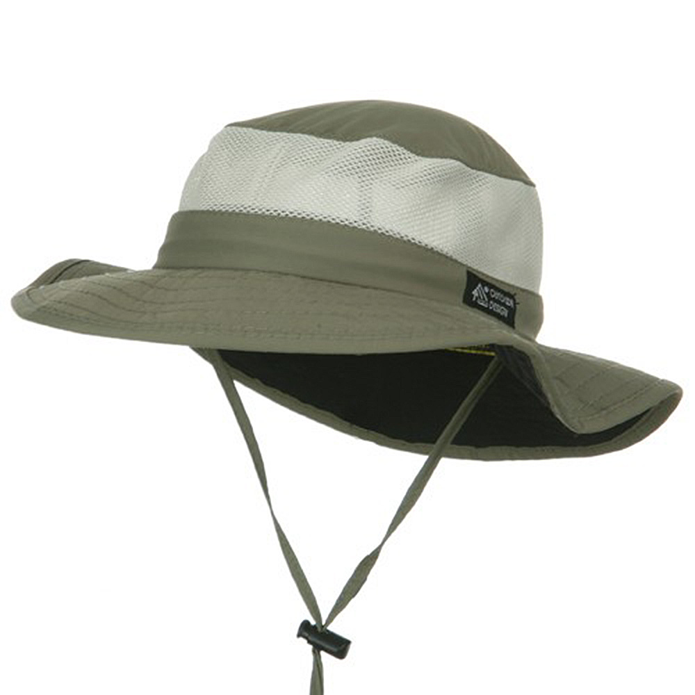 UPF 50+ Explorer Mesh Outdoor Hat - Fossil - Hats and Caps Online Shop - Hip Head Gear