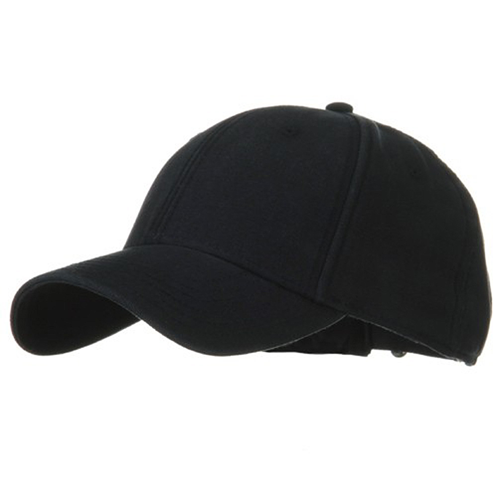 Brushed Cotton Canvas Cap-Navy - Hats and Caps Online Shop - Hip Head Gear
