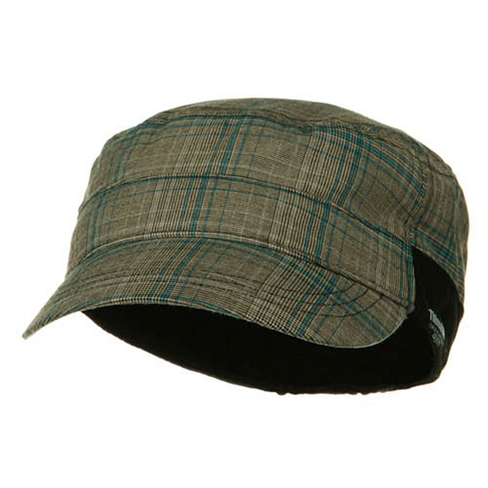 Fashion Plain Insulation Lining Army Cap - Blue - Hats and Caps Online Shop - Hip Head Gear
