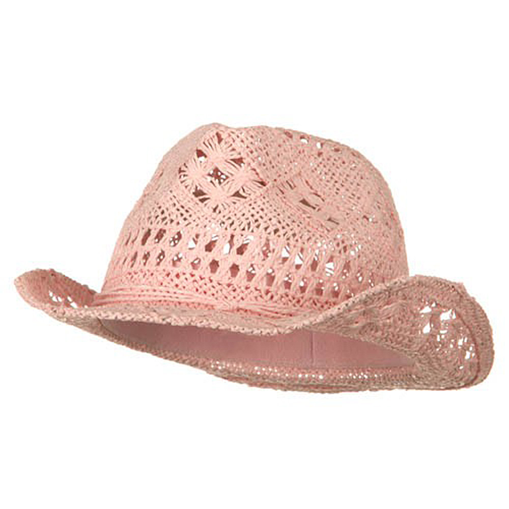 Ladies Toyo Fedora Hat - Pink - Hats and Caps Online Shop - Hip Head Gear