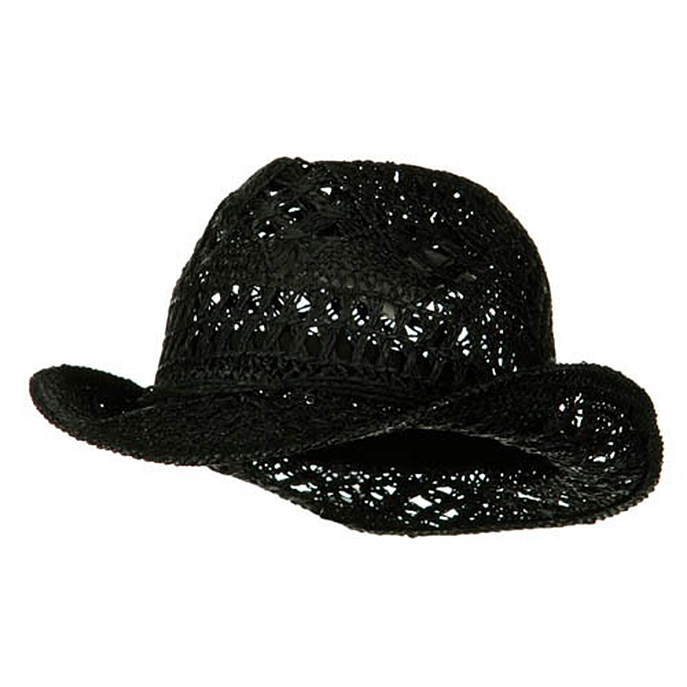 Ladies Toyo Fedora Hat - Black - Hats and Caps Online Shop - Hip Head Gear