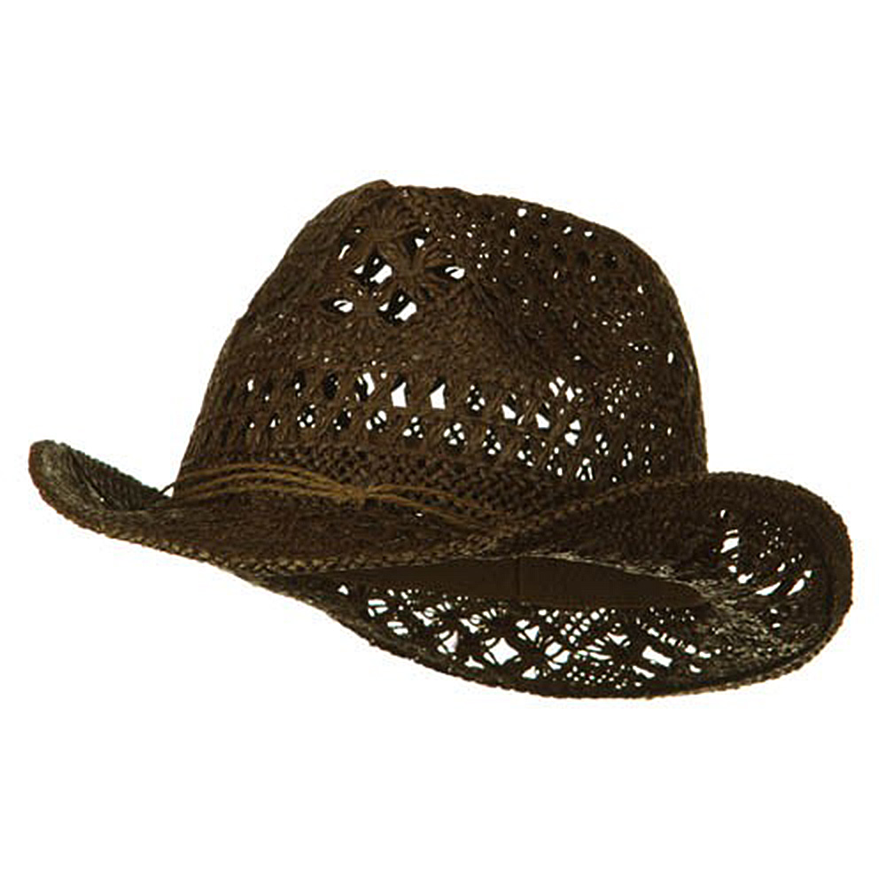 Ladies Toyo Fedora Hat - Coffee - Hats and Caps Online Shop - Hip Head Gear