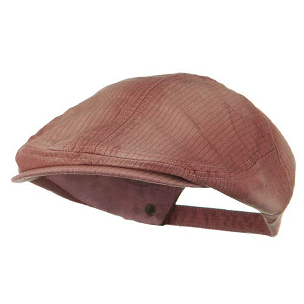 Heavy Washed Pinstripe Cotton Ivy - Light Wine - Hats and Caps Online Shop - Hip Head Gear