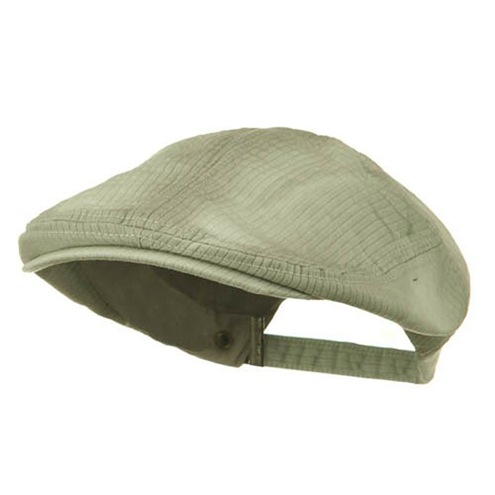 Heavy Washed Pinstripe Cotton Ivy - Stone - Hats and Caps Online Shop - Hip Head Gear