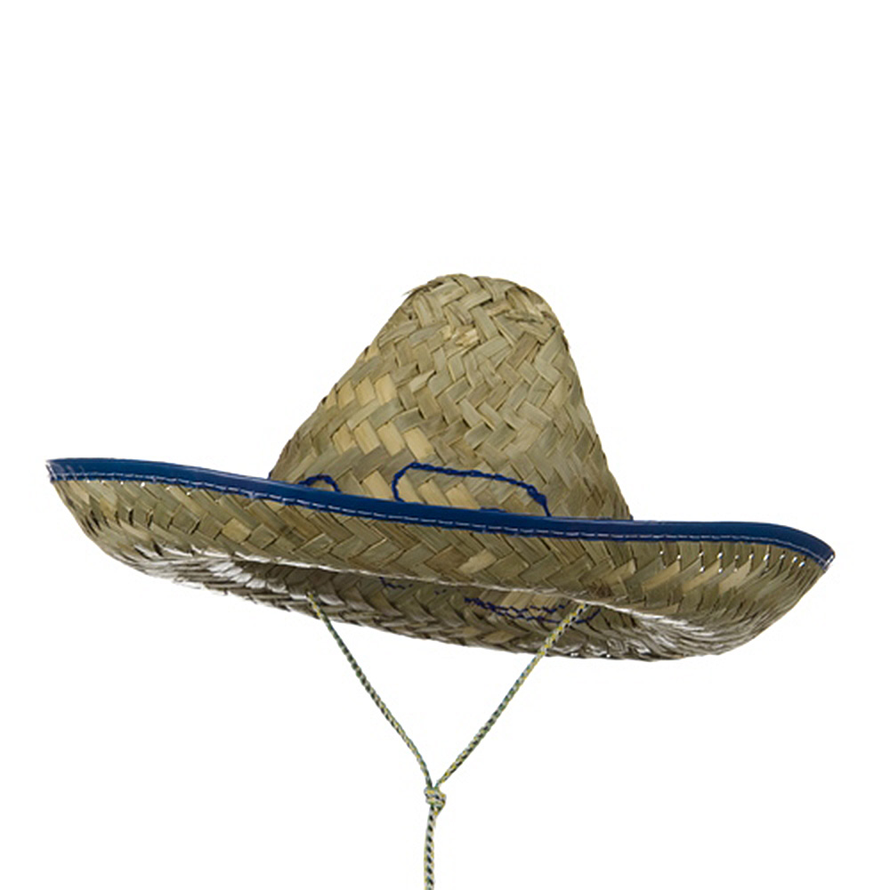 Child Embroidered Crown Sombrero - Royal - Hats and Caps Online Shop - Hip Head Gear