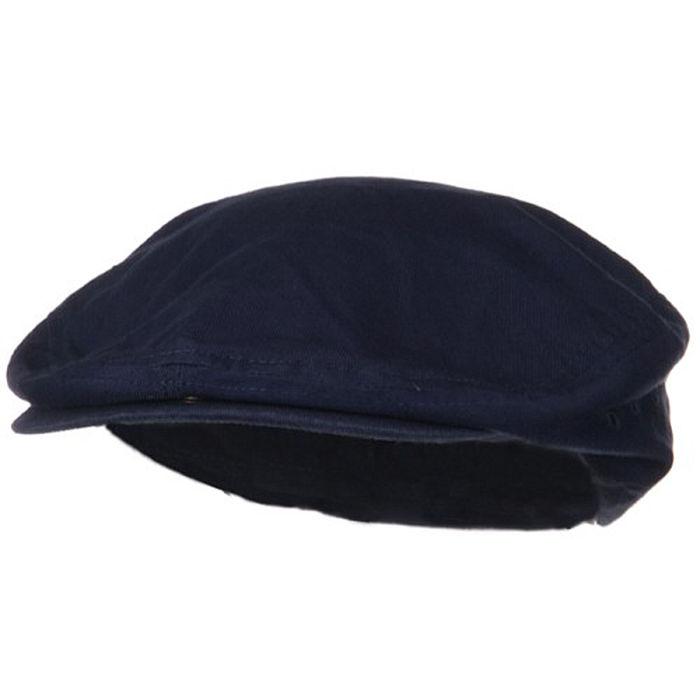 Plaid Lined Ivy Caps-Navy - Hats and Caps Online Shop - Hip Head Gear