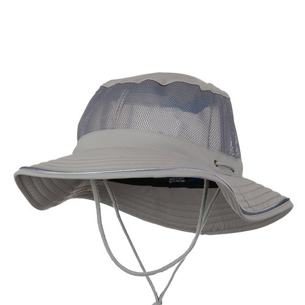 Talson UV 50+ Mesh Bucket Hat - Grey - Hats and Caps Online Shop - Hip Head Gear