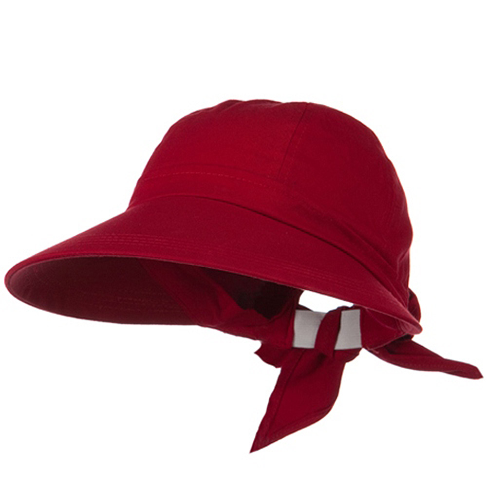 ML Peak Hat - Red - Hats and Caps Online Shop - Hip Head Gear