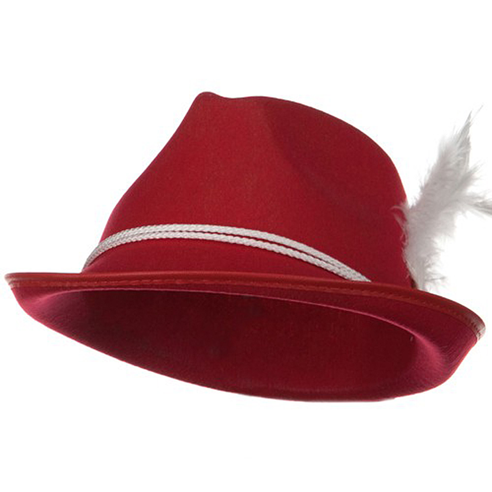 Better Felt Biarritz Hat - Red - Hats and Caps Online Shop - Hip Head Gear