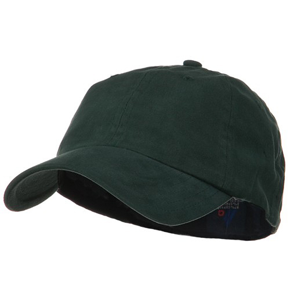 Light Brush Twill Fitted Cap - Dark Green - Hats and Caps Online Shop - Hip Head Gear