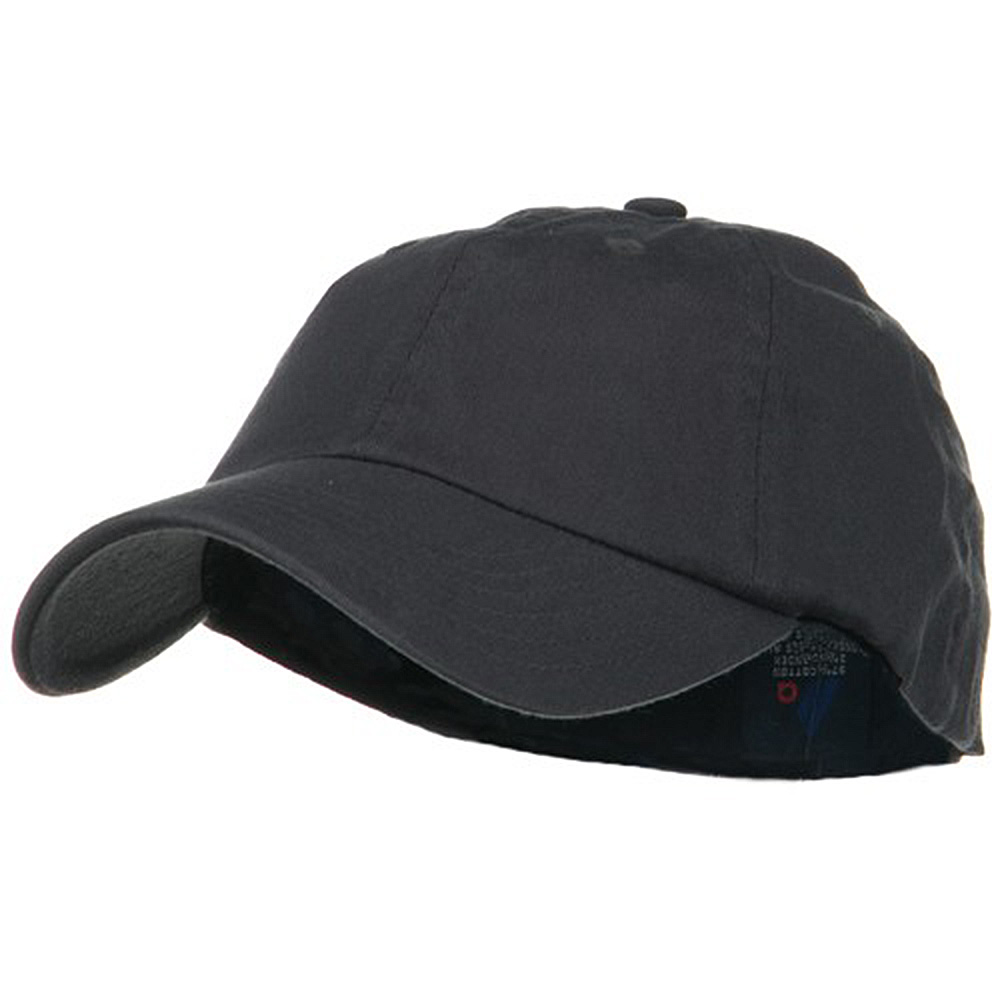 Light Brush Twill Fitted Cap - Dark Grey - Hats and Caps Online Shop - Hip Head Gear
