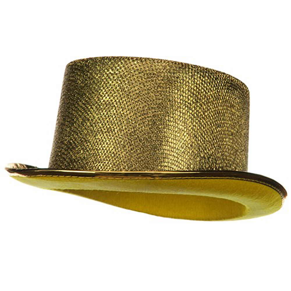 Top Hat - Gold - Hats and Caps Online Shop - Hip Head Gear