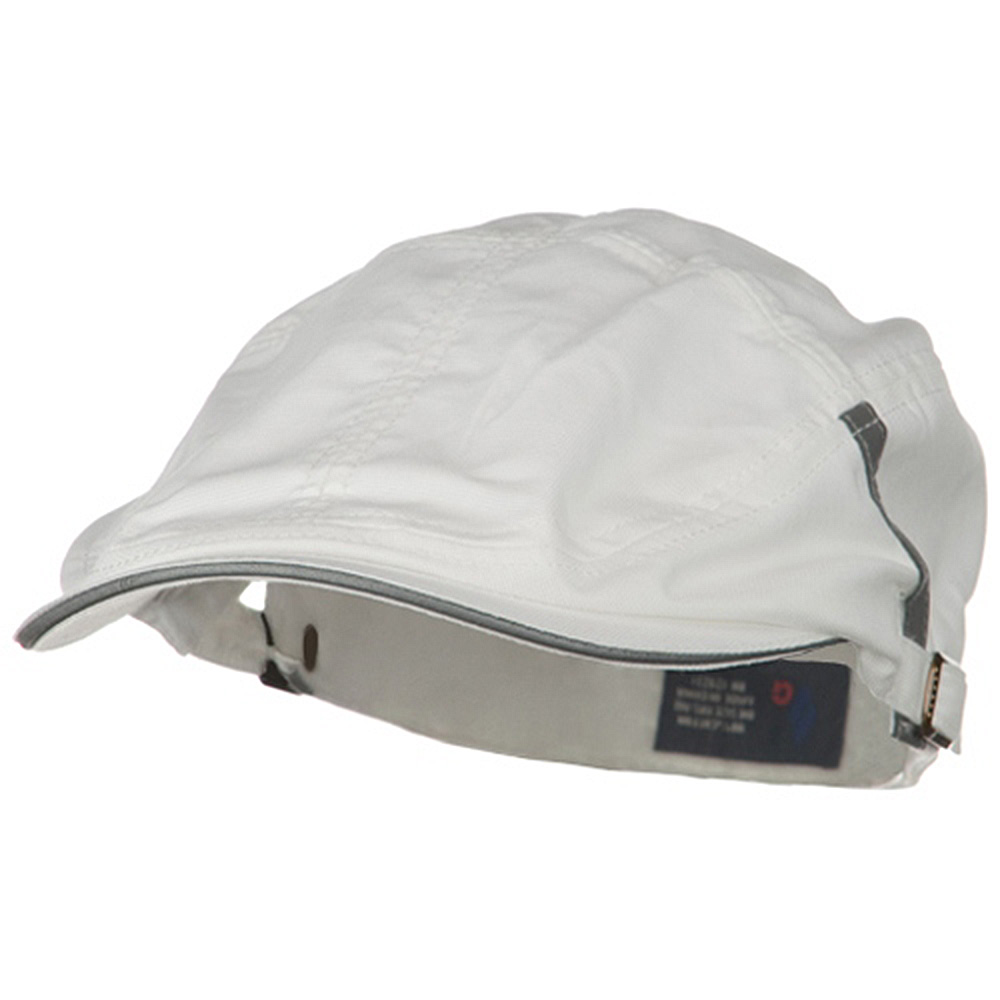 New Sandwich Bill Ivy Cap - White - Hats and Caps Online Shop - Hip Head Gear