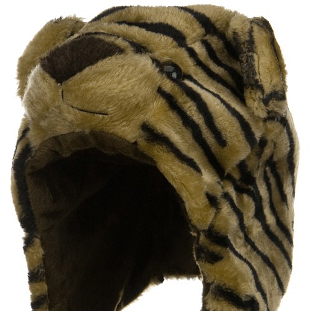 Fleece ML Animal Hat - Tiger - Hats and Caps Online Shop - Hip Head Gear