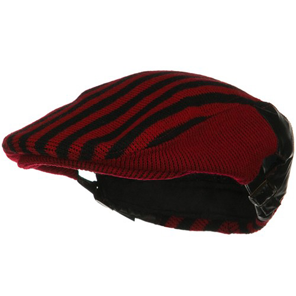 Side Adjustable Knit Ivy - Red - Hats and Caps Online Shop - Hip Head Gear