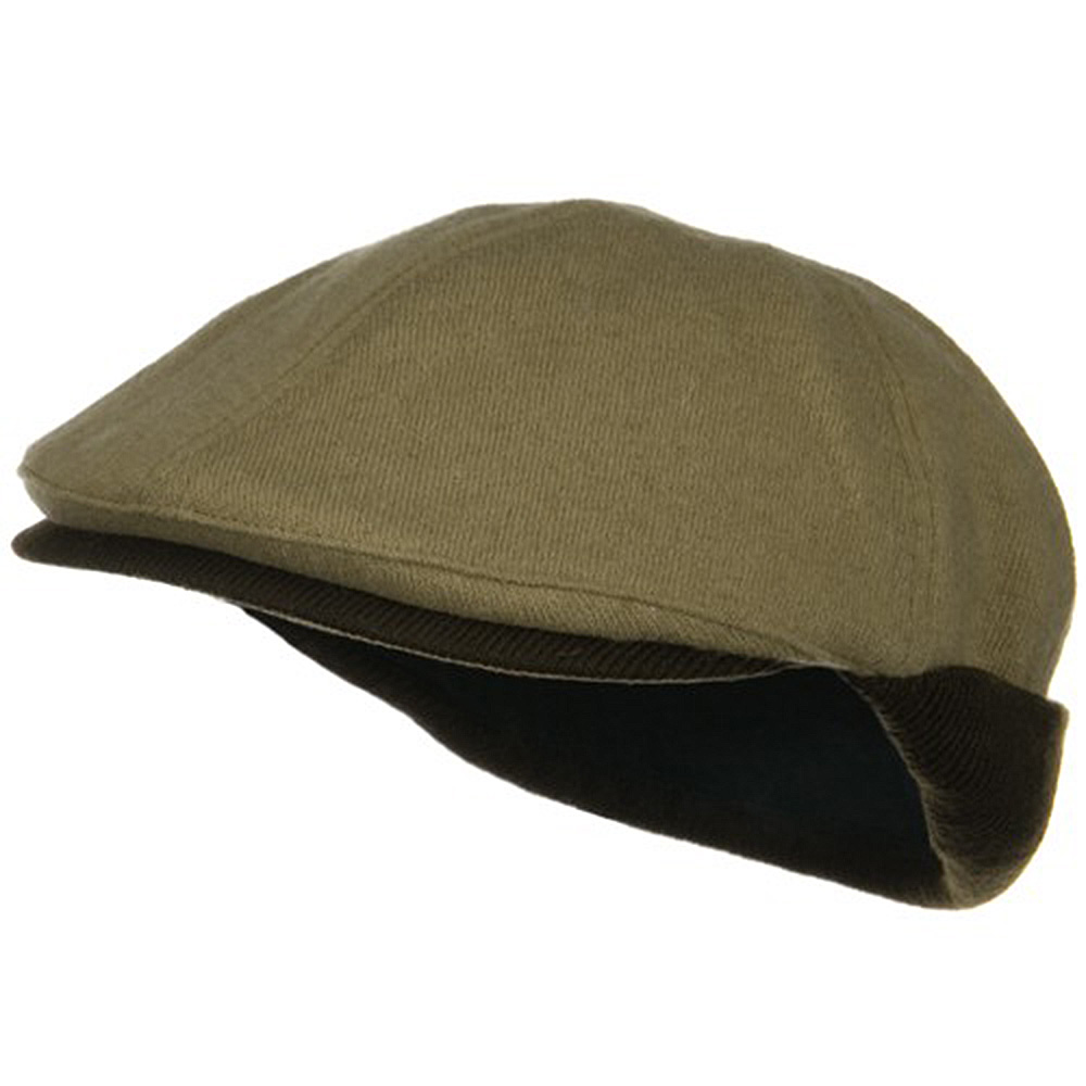 Warmer Flap Wool Ivy Cap - Camel Coffee - Hats and Caps Online Shop - Hip Head Gear