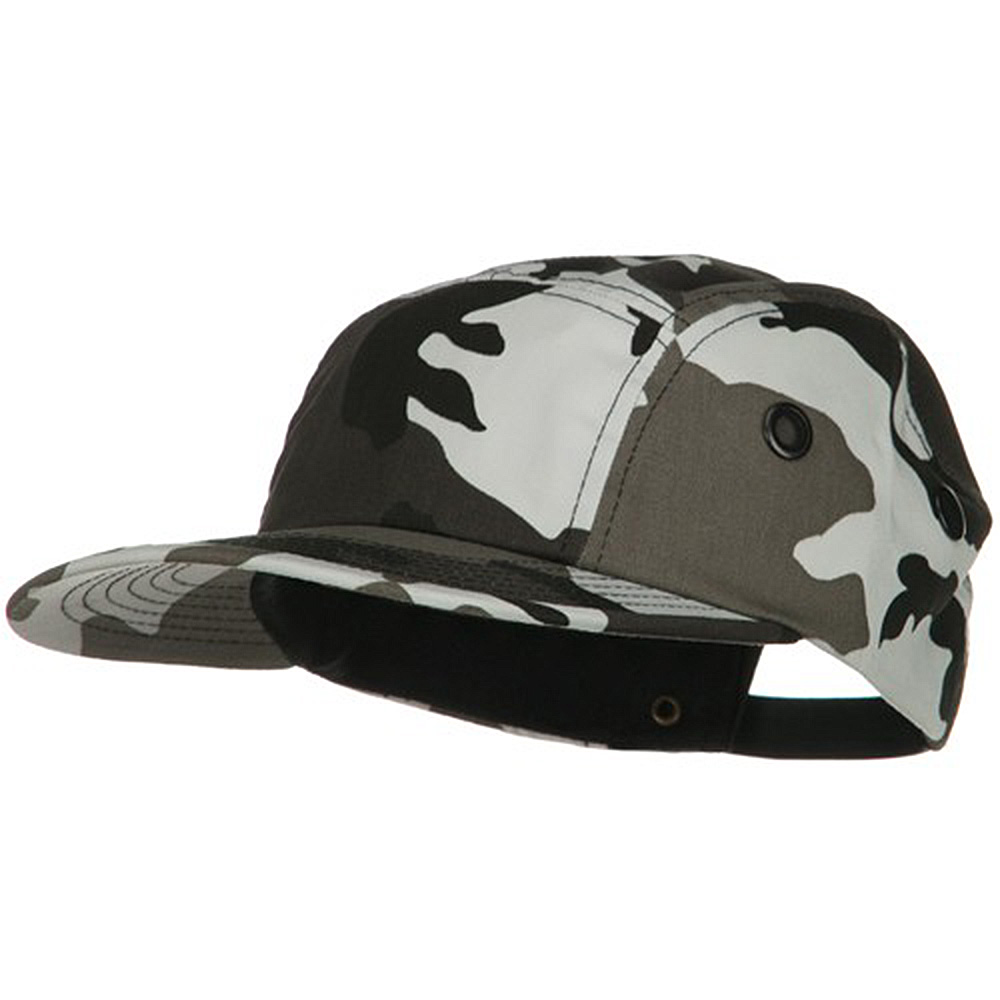 5 Panel Camouflage Twill Cap - City - Hats and Caps Online Shop - Hip Head Gear