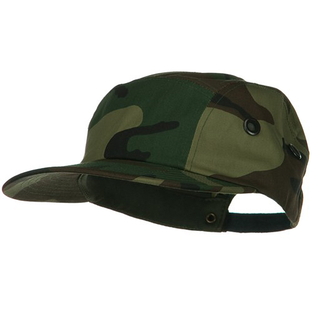 5 Panel Camouflage Twill Cap - Camo - Hats and Caps Online Shop - Hip Head Gear