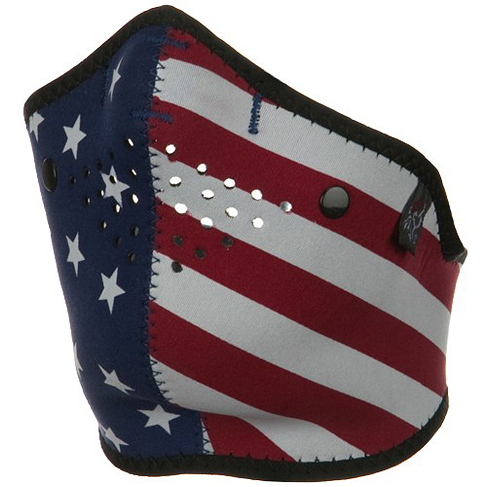 Neo-X Half Face Mask - US Flag - Hats and Caps Online Shop - Hip Head Gear