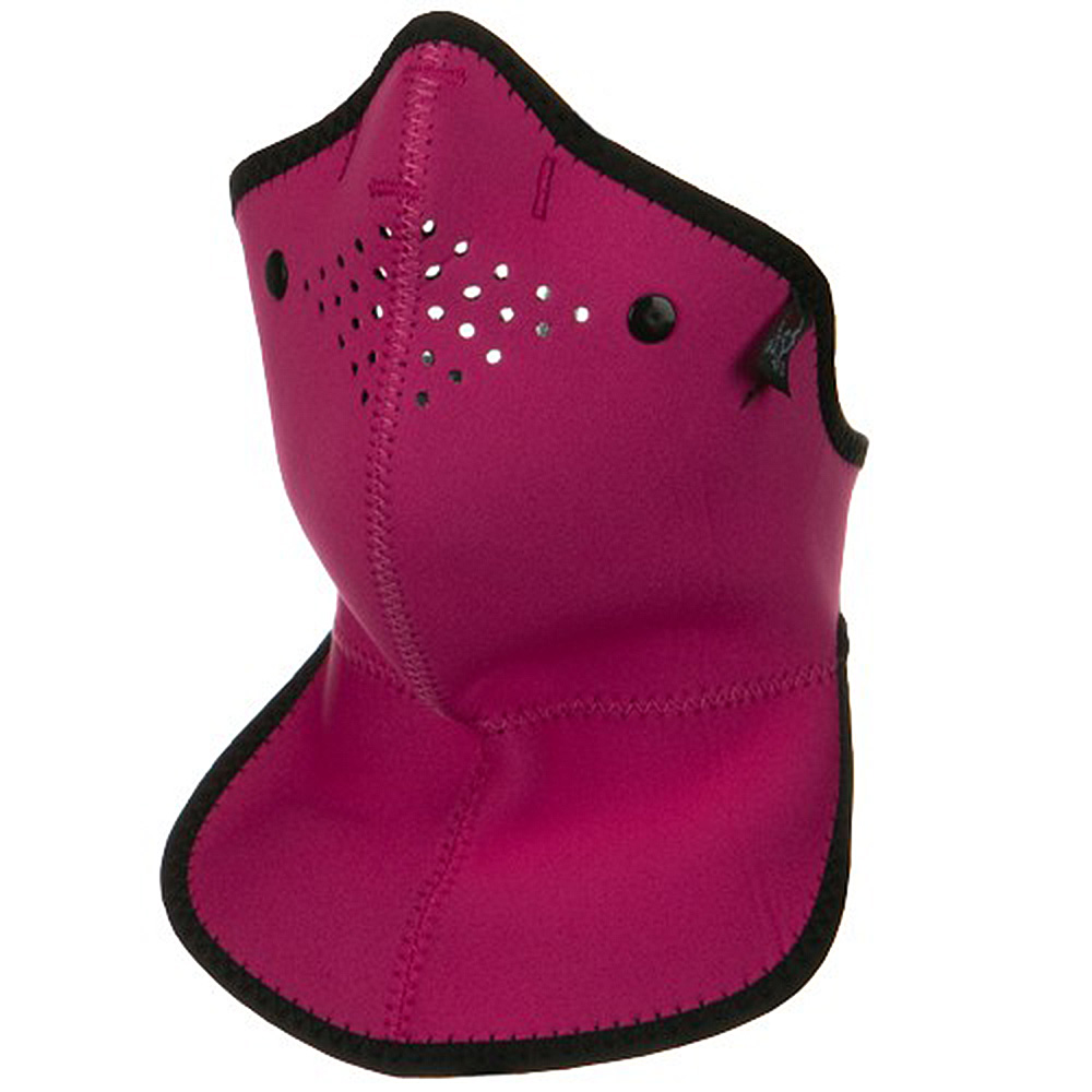 Neo-X Half Face Neck Mask with Removable Filter and Neck Shield - Pink - Hats and Caps Online Shop - Hip Head Gear