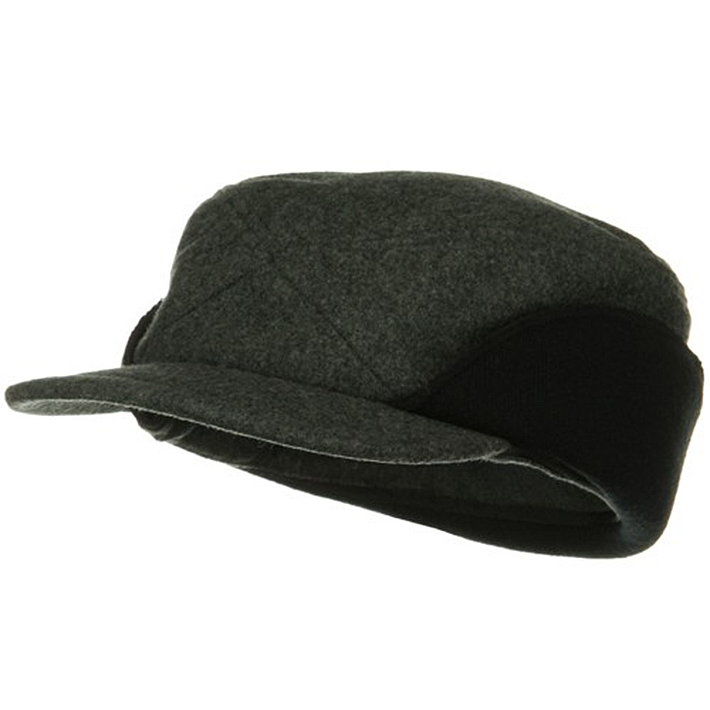 Diamond Stitch Work Cap - Dark Grey - Hats and Caps Online Shop - Hip Head Gear